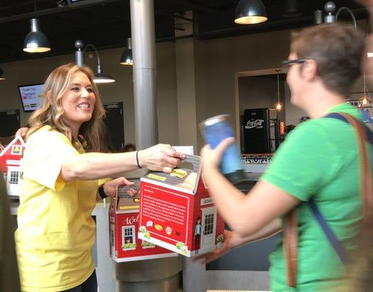 Teachers receive classroom kits.