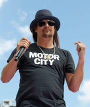 Kid Rock performs Aug. 30-Sept. 1, 2019, in Panama City.