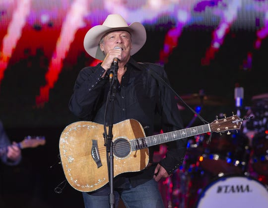 Country music artist Alan Jackson performed Saturday, April 27, 2019, as part of the 148th National Rifle Association's annual meetings at Lucas Oil Stadium in Indianapolis. Jackson, with special guest William Michael Morgan, included the stop as part of his 2019 Tour. Mindy Campbell, one of six artists Jackson will showcase on the road this year, kicked off the evening with her performance.