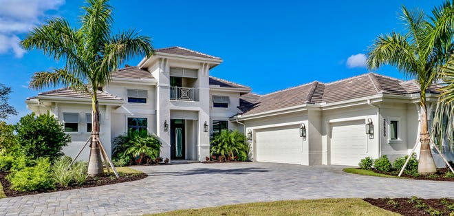 The Regency Manor, by Stock Signature Homes, had an asking price of $1,549,990.