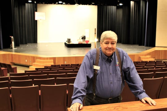 Randy West, supervisor of the Farmington Civic Center, has big plans for the renovated facility over the next year.