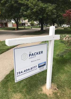 A home for sale near Five Mile and Levan in Livonia.