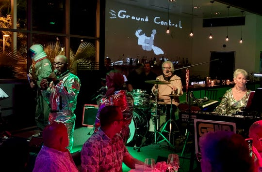 "The Gand Band performs ""Rocket Man"" at PS Underground on Saturday, July 20, 2019."