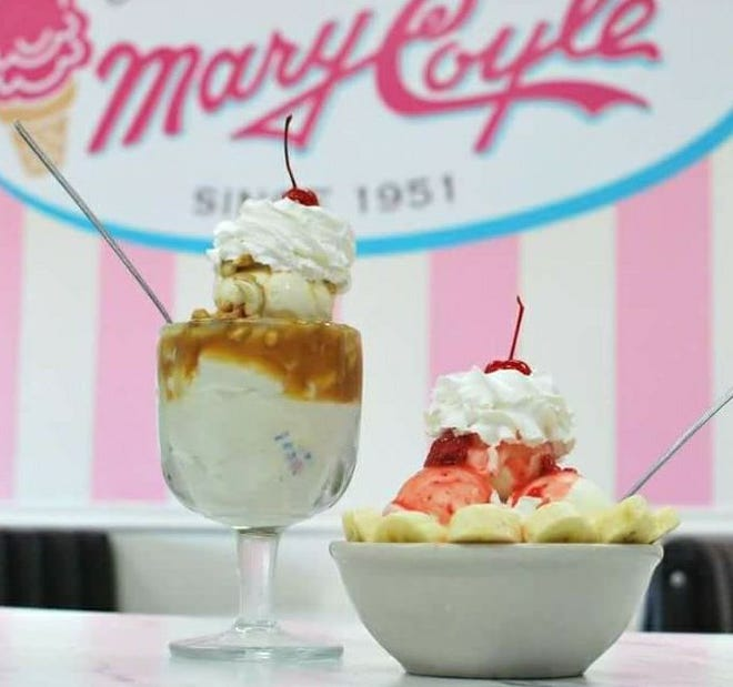 Ice cream treats from Mary Coyle Ol' Fashion Ice Cream. The ice cream parlor will reopen in a new midtown Phoenix location this fall.