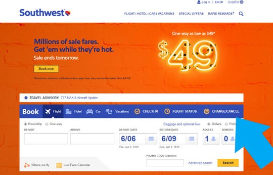 """Southwest has a generous change policy making it easy to get a refund if you should find a sale fare. You'll need to log into your reservation under the """"Change/cancel"""" tab on Southwest's homepage."""
