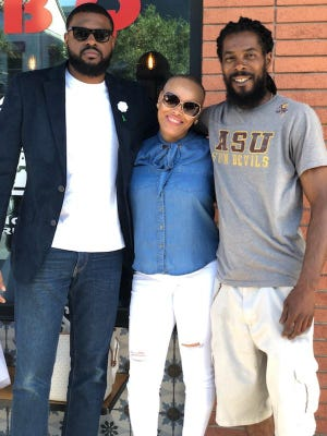 Jazzmond Holloway (right) died from a gunshot wound on June 30, 2019. His family asked the public to come forward with any information on his homicide.
