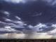 Intenso aguacero cayó sobre la ciudad de Queen Creek, Arizona, el 30 de julio de 2019.