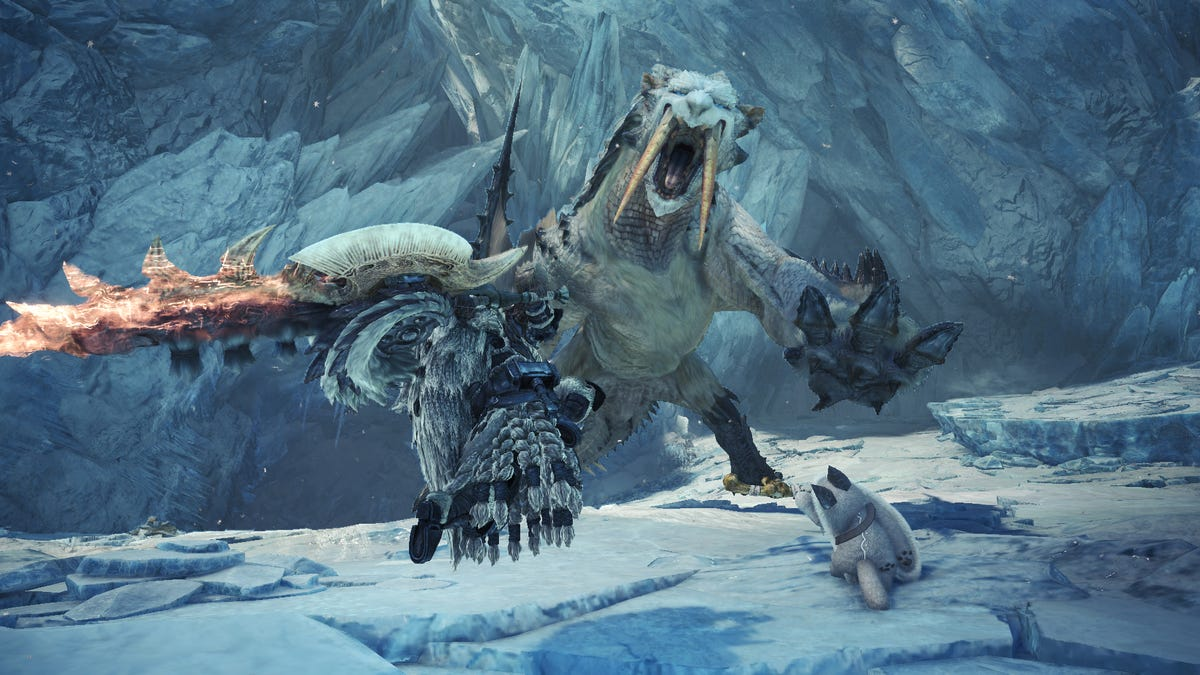 I Hunted Barioth In Monster Hunter World Iceborne And It Was Good