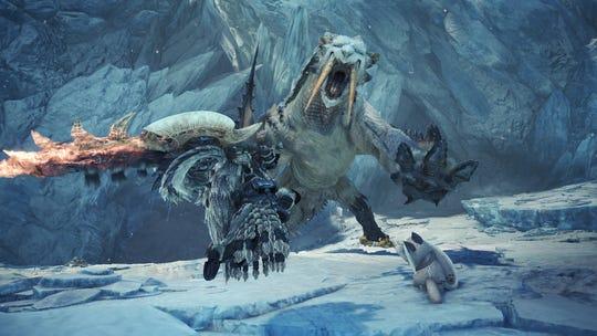Barioth returns in Monster Hunter World Iceborne.