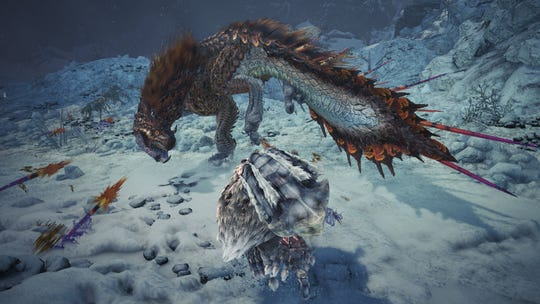 Viper Tobi Kadachi in Monster Hunter World Iceborne.