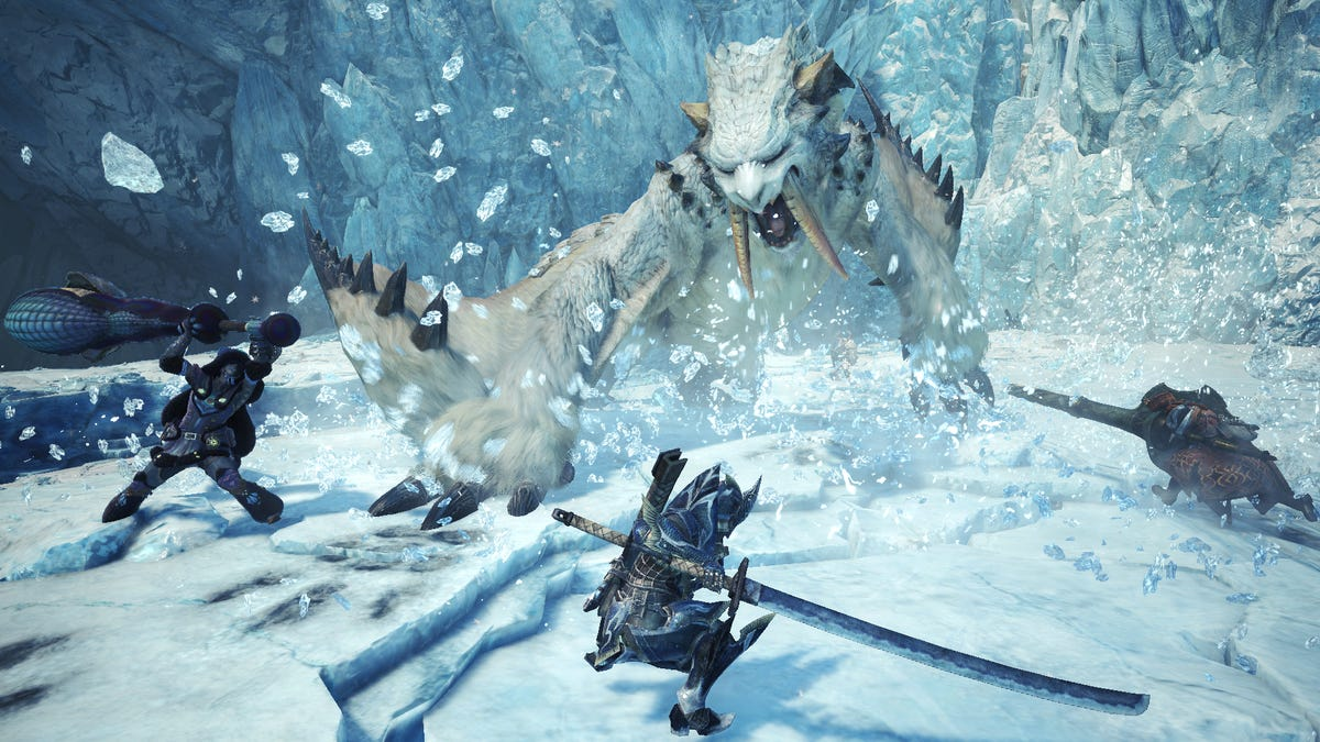 Hands On We Play The First Few Hours Of Mhw Iceborne Technobubble