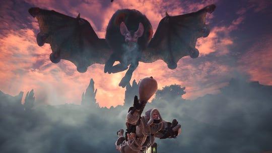 Nightshade Paolumu in Monster Hunter World Iceborne.