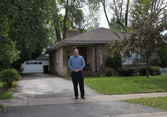 Irondequoit town supervisor David Seeley at his home in the 14609 neighborhood.