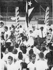 Rochester's first Puerto Rican Festival was at Brown Square Park in 1970.
