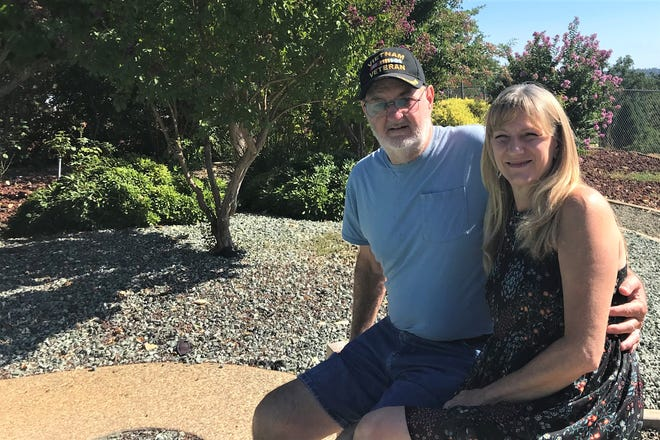 Richard and Janet Starr moved to Redding after their home and business was destroyed in the Helena Fire in 2017.