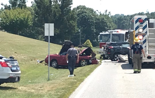 One person is dead following a crash on Hermitage Road on Wednesday in Augusta County.