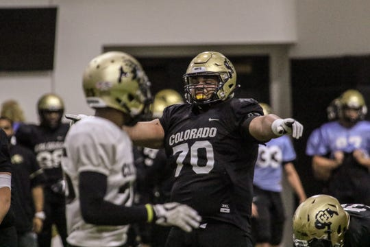 St. Bonaventure High graduate Casey Roddick arrived at the University of Colorado weighing 386 pounds, but is now listed at 330.  Roddick, who arrived at Colorado weighing 386 pounds, is now listed at 330 on the Buffaloes' roster.