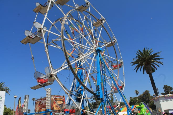 The Ferris wheel at the Ventura County Fair.