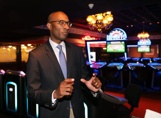 Uri Clinton, the former President and COO at Empire City Casino by MGM Resorts in Yonkers, is pictured in the casino, July 31, 2019.