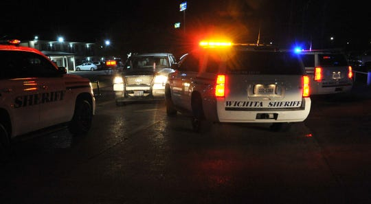 Wichita County deputies stop pursuits suspect Tuesday night near central freeway at Maurine St.