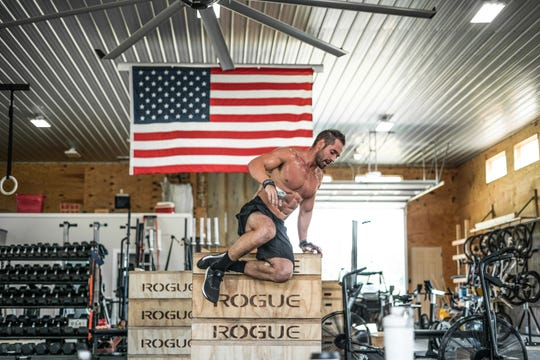CrossFit superstar Rich Froning, pictured during a 2019 competition, will be part of a charity CrossFit event being held at Oakland High School's indoor football facility Saturday.
