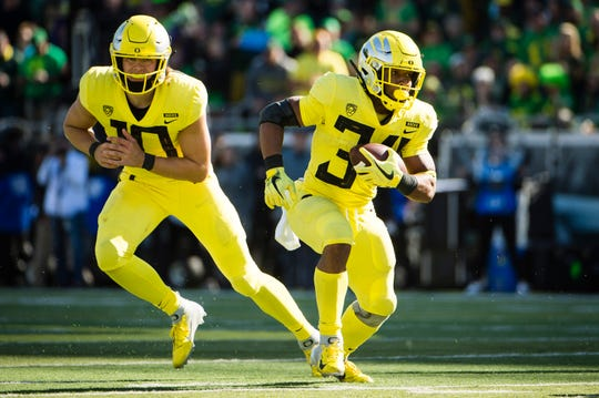 No. 13 Oregon Ducks (9-4 in 2018).