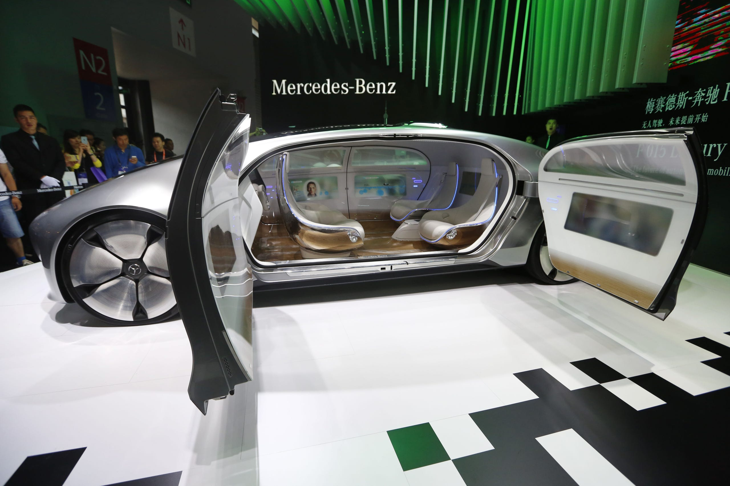 Mercedes-Benz F 015 Luxury in Motion concept car