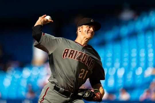 Zack Greinke was traded to the Astros at the trade deadline buzzer.