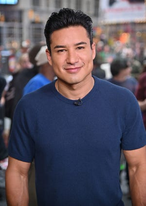 Mario Lopez in Times Square on May 17, 2019 in New York City.