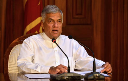 """Prime Minister Ranil Wickremesinghe assured that Sri Lanka is now safe for tourists and """"security has returned to normalcy."""""""