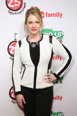 "Melissa Joan Hart attends ABC's ""25 Days Of Christmas"" Celebration on Dec. 7, 2014 in New York City."