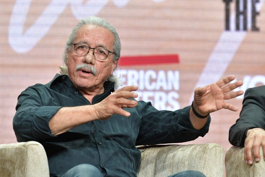 """Edward James Olmos discusses """"Raul Julia: The World's a Stage"""" for PBS."""