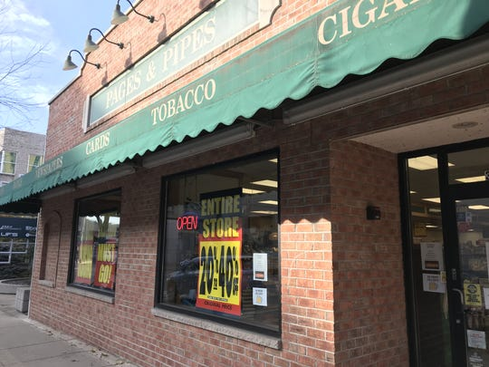 Pages & Pipes in downtown Appleton closed in January 2018.