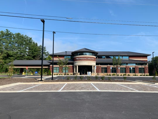 The new State Employees Credit Union branch on Airport Road in Arden opens Aug. 12.