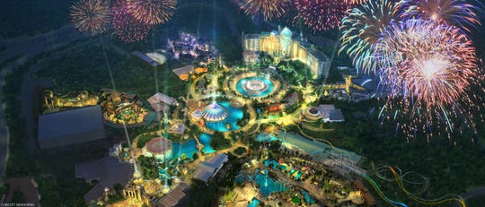 Universal Orlando Resort is building a new, fourth, theme park to be called Universal's Epic Universe.