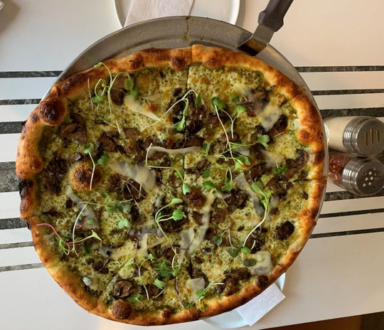 "Menu items at Pizza 44 include the Go Ask Alice, a title that plays on lyrics from ""White Rabbit"" by Jefferson Airplane."