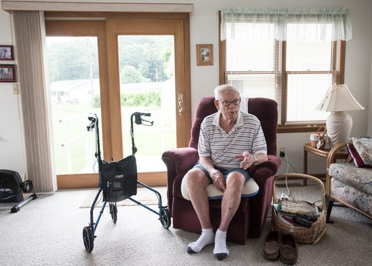 Army veteran Richard Tuttle left his doctor in the 1990s to go to the company medical center and is concerned that, since he will no longer be able to use the center, that any sudden health issue would not be dealt with as efficiently.