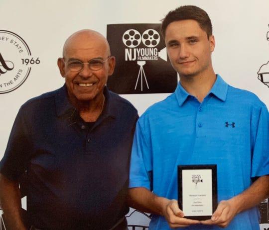 Michael Garlatti, right, and Fred Cole