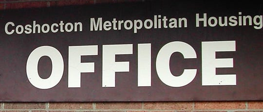 Coshocton Metropolitan Housing Authority sign