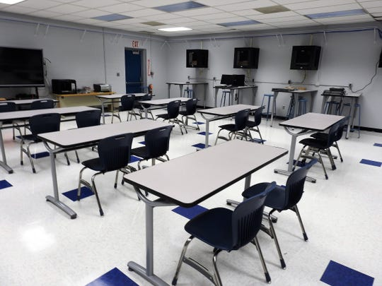 The networking and information technology program at the Coshocton County Career Center has a new room for the coming school year that features new student furniture and equipment and new flooring, ceiling and paint.