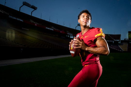 Redshirt freshman Re-al Mitchell is Iowa State's backup quarterback right now.