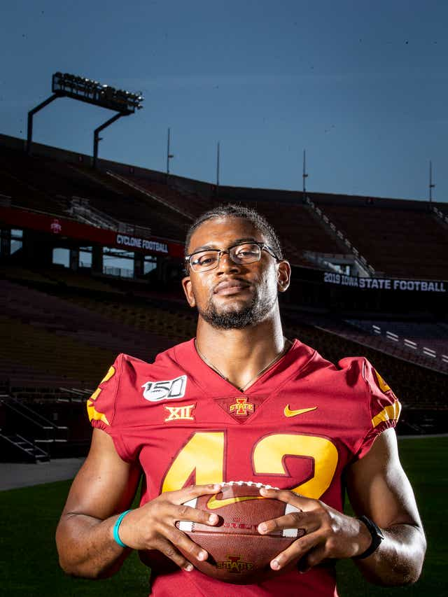 Cy-Hawk game: Iowa State's Marcel Spears Jr. leans on faith on his ...