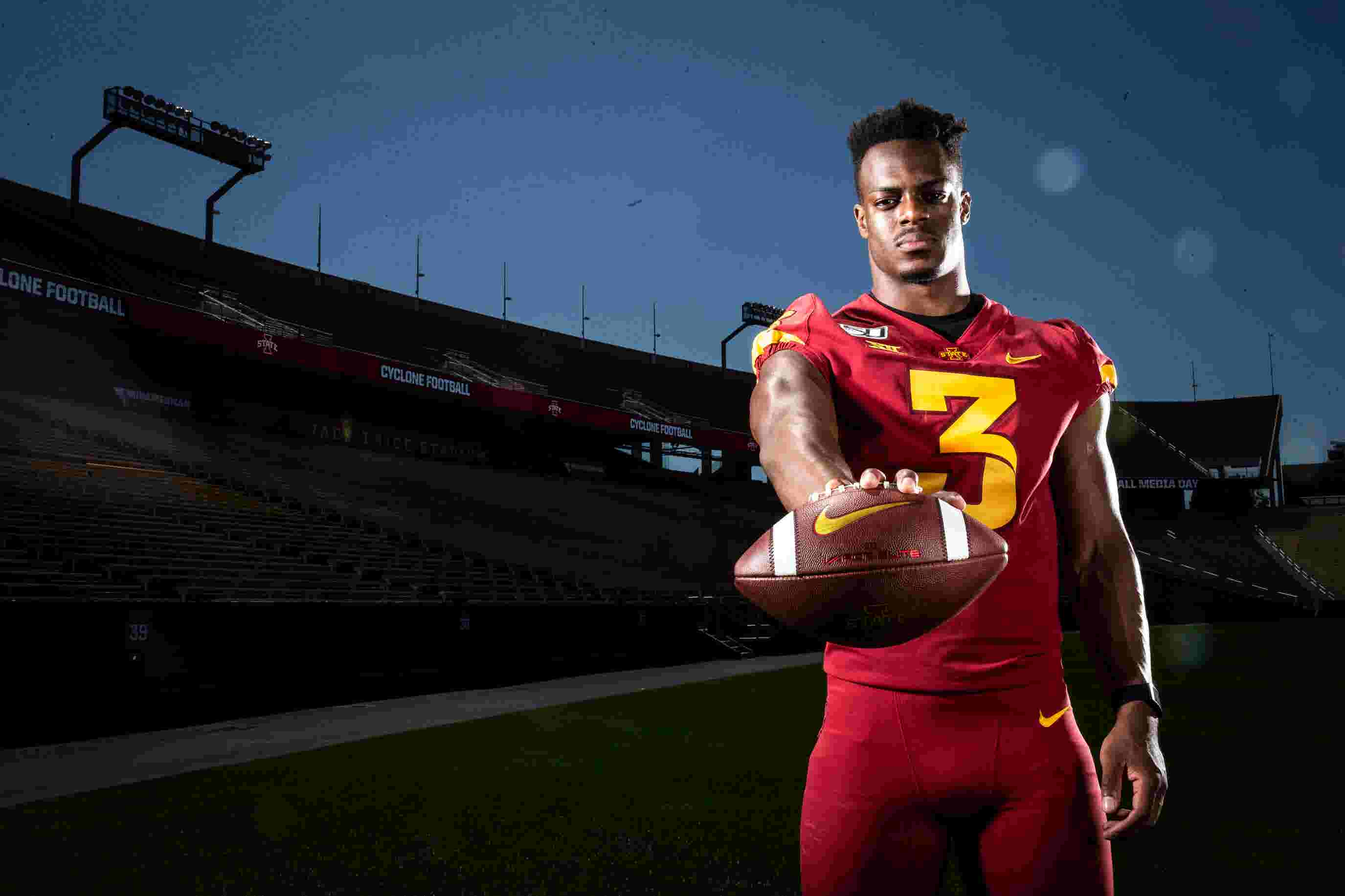 Iowa State's Kene Nwangwu didn't want to be known as a one-dimensional player