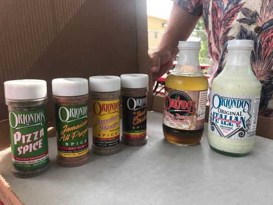 After closing Orlondo's last month, owner Patrick Renda said he plans to throw himself into marketing the restaurants dressings and spices.
