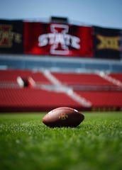 Iowa State is scheduled to open the football season on Sept. 5 against visiting South Dakota.