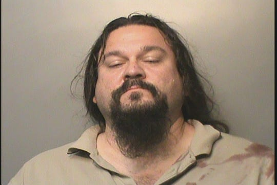 Ryan Tourtillott, 46, of Apple Valley, California, is charged with eluding and interference with official acts, among other charges, after leading police on a short pursuit with his semi-truck Wednesday morning.