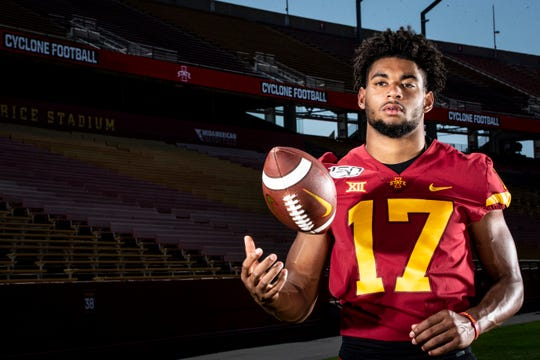 Transfer wide receiver Darren Wilson could have an immediate impact at Iowa State this season.