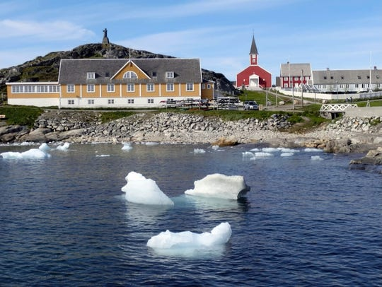 The U.S administration is expected to announce the opening of a U.S. Agency for International Development office at the new American consulate in the capital, Nuuk, and at least $12 million in new aid projects.