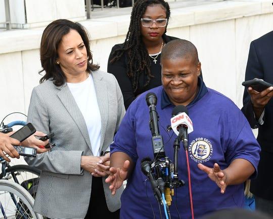 Biden, Harris, Booker keep campaigning in Detroit
