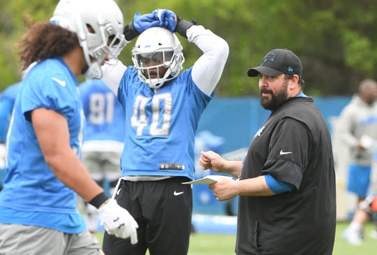 Lions head coach Matt Patricia isn't concerned about opponents secretly scouting open practices.